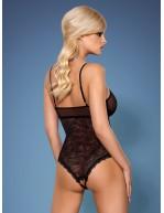 Body teddy sexy bijou 818-TED-1 noir