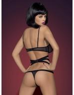 Body teddy noir sex-appeal Bondy
