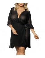 Peignoir sexy grande taille Islla Robe