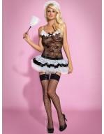 Costume de soubrette sexy Housemaid