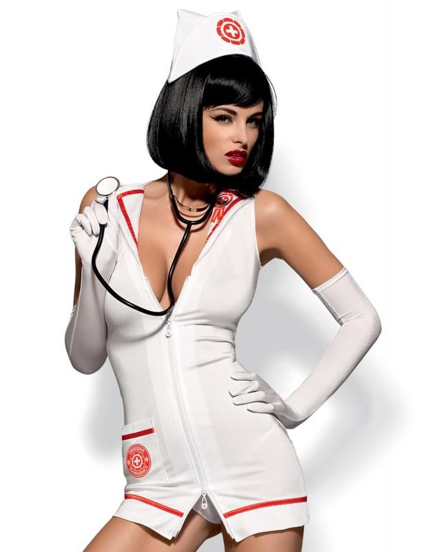 Costume d'urgentiste avec stéthoscope Emergency