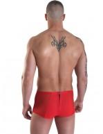 Shorty homme doux et sexy Mini Pant Wizz rouge