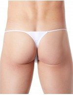 String homme coquin et sexy Cube blanc