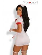 Ensemble complet 9 pièces Sexy Love Nurse