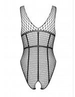 Body ultra sexy en résille filet sur la poitrine B117