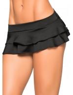 Mini jupe noire coquine Style 5022