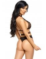 Body féminin et sexy avec dentelle chantilly et tulle Aliyah
