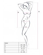Mini robe féminine noire en résille avec liens croisés BS026