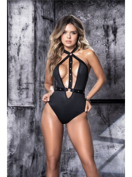 Body noir féminin et audacieux Style 8513