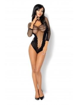Body coquin et sexy jeux de résilles Lucelia